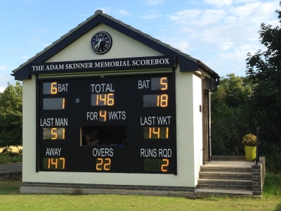 Botany Bay Cricket Club scorebox 1